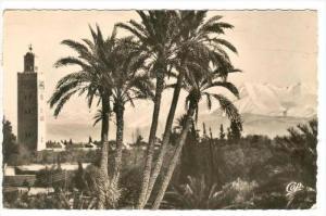 RP, La Koutoubia, Marrakech, Morocco, Africa, PU-1953