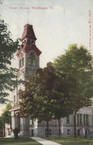 WAUKEGAN , Illinois , 1900-10s ; Court House version 2