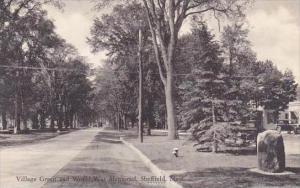 Massachusetts Sheffield Village Green And World War Memorial