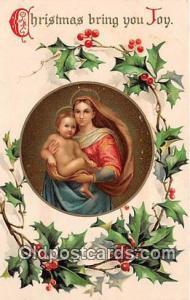 Religion Postcard  Christmas