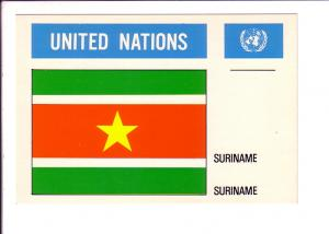 Suriname, Flag, United Nations