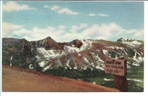 Estes Park, CO - Trail Ridge Road - Rocky Mountain National Park