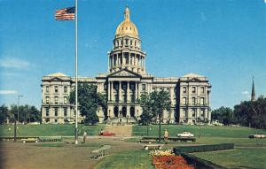 Nice Denver,Colorado/CO Postcard, Capitol & Civic Center