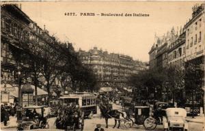 CPA Paris 9e - Boulevard des Italiens (274168)