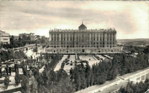 Spain Madrid Palacio de Oriente Fachada Norte 01.94