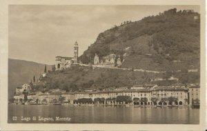 Switzerland Postcard - Lago Di Lugano - Morcote - Ref TZ7621
