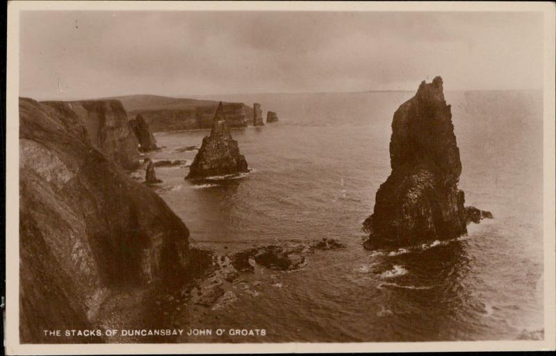 Stacks of Duncansbay John o'Groats UK