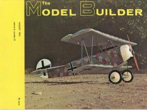 Vintage The Model Builder Magazine August 1973