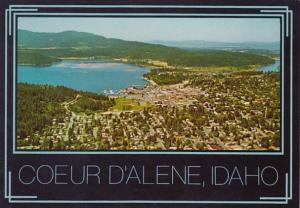 Idaho Coeur d' Alene Panoramic View