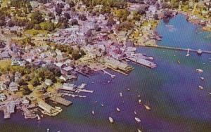 Maine Boothbay Harbor Airview Of Boothbay Harbor