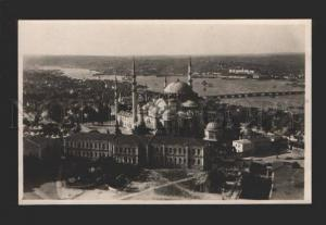 078958 TURKEY CONSTANTINOPLE Mosque view Vintage photo PC
