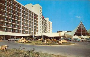 SAN JUAN PUERTO RICO HOTEL SAN JUAN INTERCONTINENTAL POSTCARD 1960s