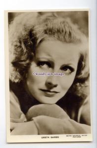 b5777 - Film Actress - Greta Garbo - M.G.M. Pictures - postcard