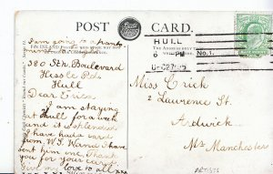 Genealogy Postcard - Family History - Crick - Ardwick - Near Manchester   A1014