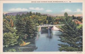 Bridge Over Schroon River Warrensburg New York