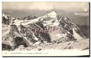 Old Postcard The Dauphine Ascension Belledonne