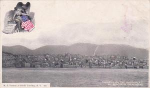 Fishkill On The Hudson, Mt. Beacon In Background, Hudson, New York, 1900-1910s