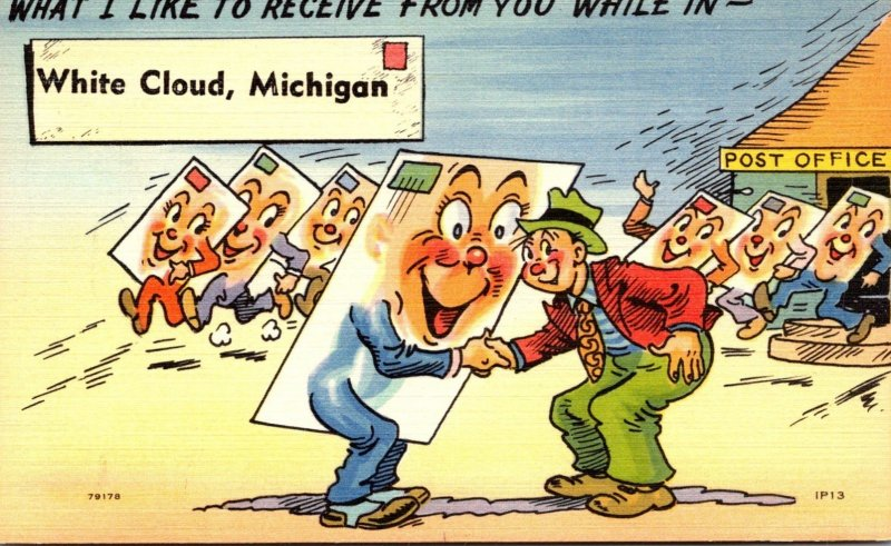 Humour What I Like To Receive From You While In White Cloud Michigan