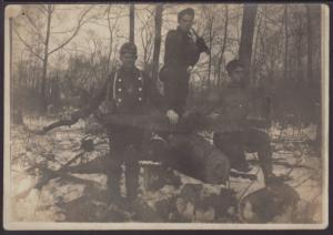 Three Loggers Postcard