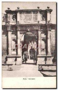 Old Postcard Padova Arco Valaresco