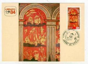 Maximum postcard Art panel SEC XVIII - Catedral De Mariana, Rio, Brazil, 1984 #3