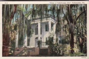 Florida Tallahassee Home Of Tallahassee Girl 1941 Curteich