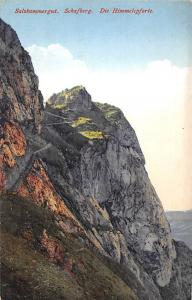 Salzkammergut Schafberg Die Himmelspforte Berg Mountain