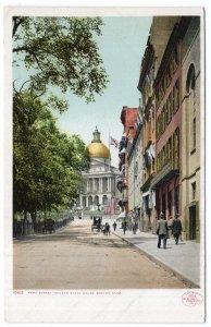 Boston, Mass, Park Street Toward State House