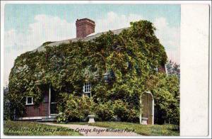 Williams Cottage, Roger Williams Park, Providence RI