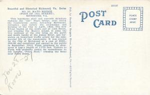 Richmond Virginia~Mayo Bridge~14th Street~Skyline~Smokestacks~1920s Postcard