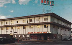 Billy Barker Inn on the Cariboo Highway 97,  Quesnel,   B.C.,  Canada,  40-60s