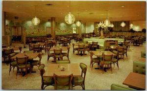 Springfield, Missouri Postcard HERITAGE CAFETERIA Restaurant Roadside c1960s