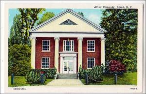 Alfred University, Alfred NY