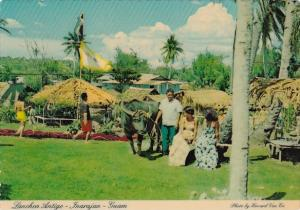Guam Inarjan Lanchon Antigo Recreation Of Ancient Chamorro Village