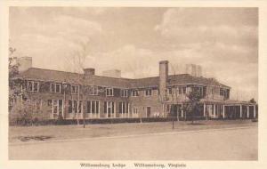 Virginia Williamsburg Williamsburg Lodge Albertype