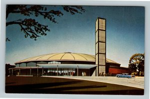 Youngstown OH, Calvary Temple, Rev Humbard, TV Ministry, Chrome Ohio Postcard