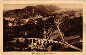 CPA MOREZ les 4 Viaducs (247545)