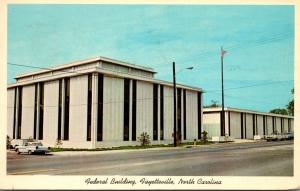 North Carolina Fayetteville New Federal Building 1968