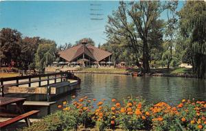 Toronto Ontario~Iroquois Coffee Shop~Centre Island~Lagoon~1965 Postcard