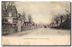 Old Postcard La Ferte Alais Avenue De Baulne
