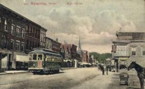Main St. Waterville ME Unused