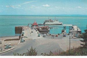 ST.-SIMEON , Quebec , Canada , 1950-60s ; Ferry at wharf