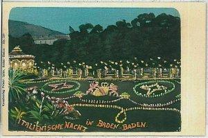 33701 - Ansichtskarten VINTAGE POSTCARD - Deutschland GERMANY -  Baden-Baden