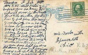Bradentown Florida~Christ Episcopal Church~Vine Covered~1922 Postcard