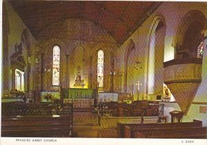 Beaulieu Abbey Church Interior Hastings England