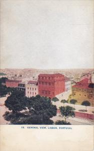 General View, LISBON, Portugal, 1900-1910s