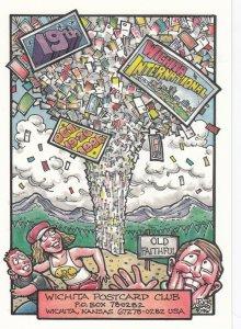 RICK GEARY ; Wichita Postcard Club 1996 ; Old Faithful