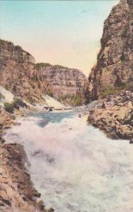Colorado Glenwood Springs Shoshone Falls Colorado River Glenwood Canyon Highw...