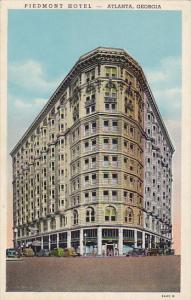 Georgia Atlanta Piedmont Hotel Curteich