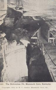 MAMMOTH CAVE, Kentucky , 1910 ; Bottomless Pit